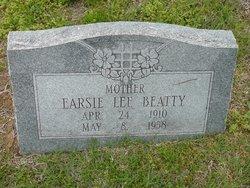 Earsie <I>Lee</I> Beatty