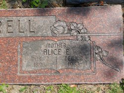 Alice Elizabeth <I>Goad</I> Luttrell