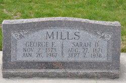 Sarah Dorothy <I>McMurdie</I> Mills