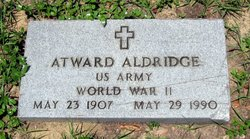 "Atward J. ""Jake"" Aldridge"