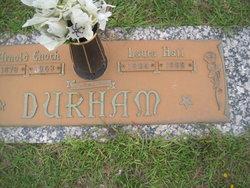 Laura <I>Hall</I> Durham