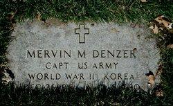 Capt Mervin M Denzer
