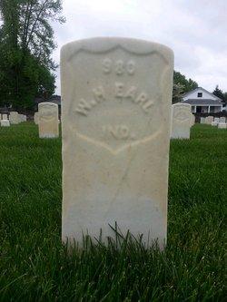 Pvt William H. Earls