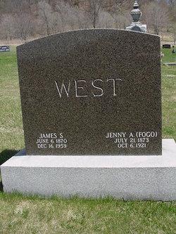 Jeanette Amelia <I>Fogo</I> West