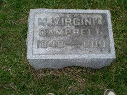 M Virginia Campbell