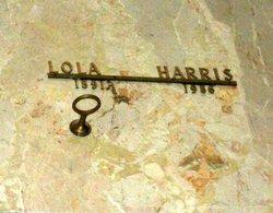Lola <I>Latimer</I> Harris