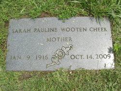 Sarah Pauline <I>Wooten</I> Cheek
