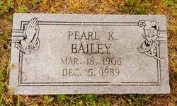 Pearl K. <I>Murray</I> Bailey