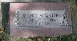 Jennie Mabel <I>Comar</I> Waters