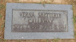 Verna <I>Shetterly</I> Callaway