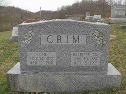 Harriett Jane Crim
