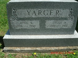 Foster D Yarger