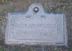 Mary Jane <I>Little</I> McDaneld