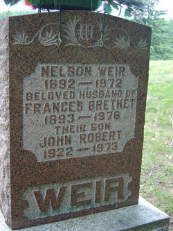 Frances <I>Brethet</I> Weir