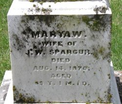 Marya W <I>Franklin</I> Spargur