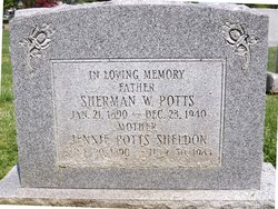 Sherman W Potts