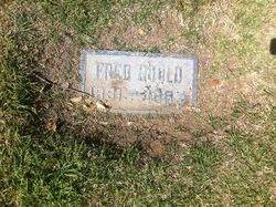 "James Fredrick ""Fred"" Gould"