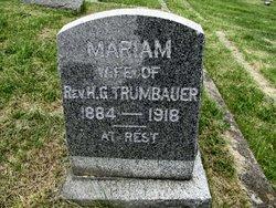 Mariam Trumbauer
