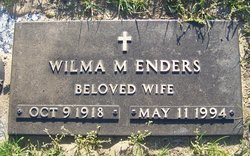 Wilma M <I>Stombaugh</I> Enders