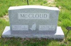 Ruth E <I>Goble</I> McCloud