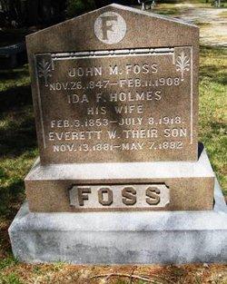 Ida F <I>Holmes</I> Foss