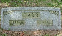 George W Carr