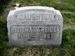 Bertha V Treiber