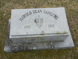 Harold Dean Sasrgent
