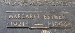 Margaret Esther Earwood