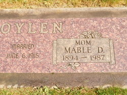 Mable D Boylen