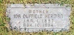 Ida J <I>Duffield</I> Herman