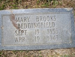 Mary <I>Brooks</I> Beddingfield