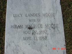 Lucy <I>Landes</I> Moore