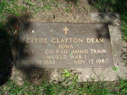 Clyde Clayton Dean