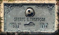 Sheryl E. Thompson