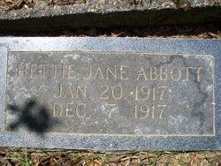Hattie Jane Abbott