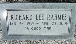 Richard Lee Rahmes