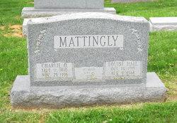 Louise <I>Hall</I> Mattingly