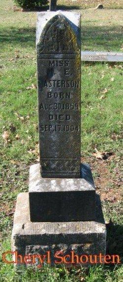 M. E. Masterson