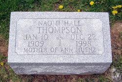 Naomi <I>Hall</I> Thompson