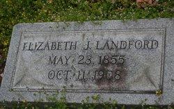 Elizabeth J Landford