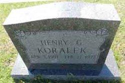 Henry G. Koralek