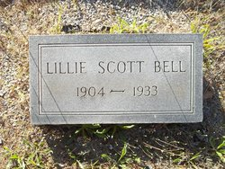 Lillie Belle <I>Scott</I> Bell