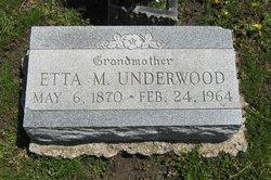 Etta M. Underwood