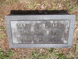 Mary <I>Webb</I> Bailey