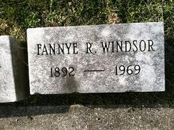 Fannye R Windsor