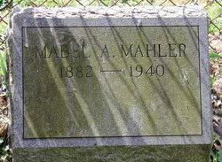 Mabel Amy <I>Odell</I> Mahler