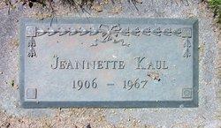 Jeannette Kaul