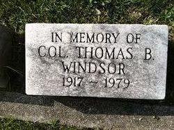 Col Thomas B Windsor