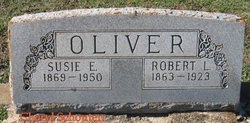 Susie Elizabeth <I>Black</I> Oliver